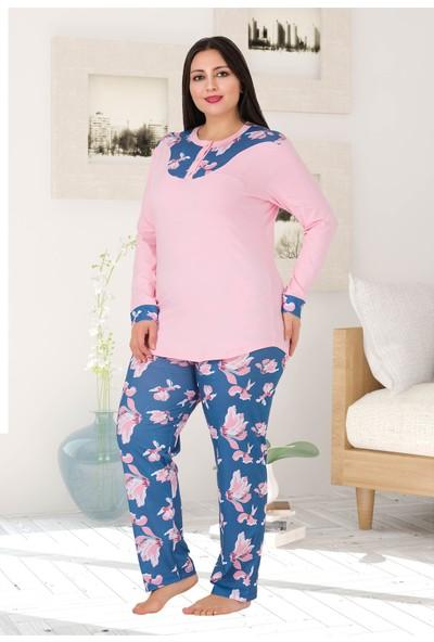 Lady Kadın Büyük Beden Pijama Takımı 185