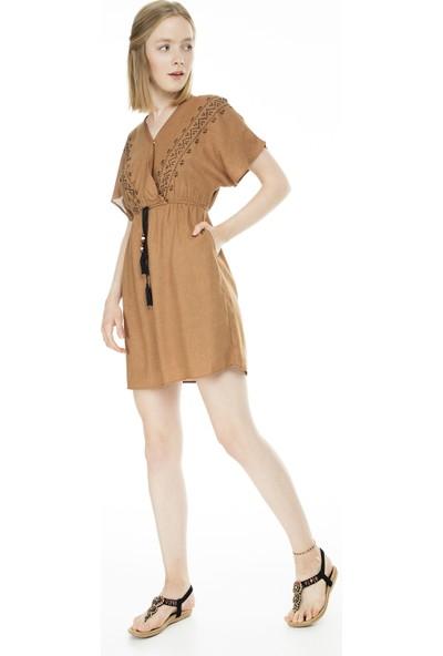 Lela Nakışlı Kadın Elbise 23430960