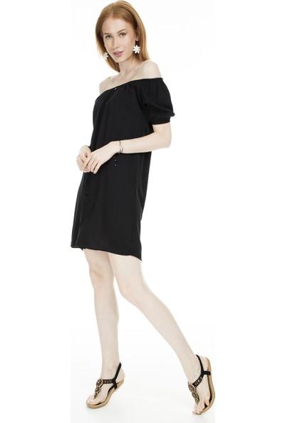 Lela Carmen Yaka Elbise Kadın Elbise 51917162
