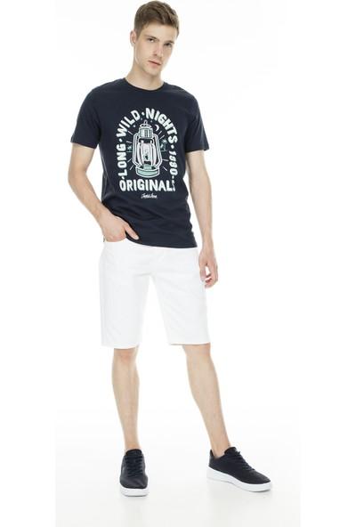 Jack&Jones Originals Jordonut T Shirt Erkek T Shirt 12155599