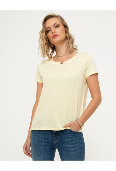 Pierre Cardin Kadın T-Shirt 50200762-Vr004