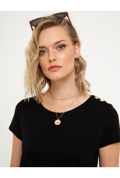 Pierre Cardin Kadın T-Shirt 50200762-Vr046