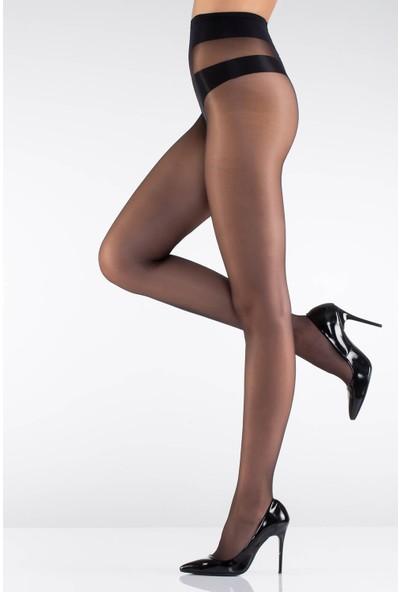 Obje Kadın İpince Külotlu Çorap - Siyah