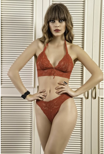 Real Passione Kadın Kırmızı Fantazi İç Giyim