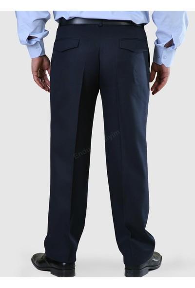 Şensel Lacivert Kışlık İş Pantolonu