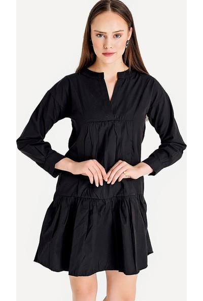 Lafaba Kadın Siyah Elbise