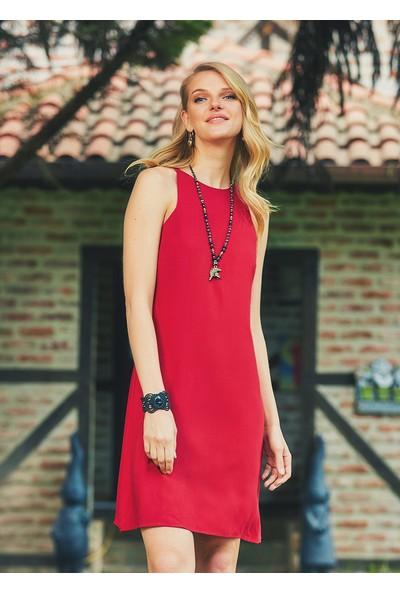 Clandestino Kadın Askılı Günlük Bohem Elbise