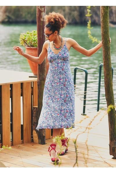 Clandestino Kadın Çiçekli Günlük Otantik Elbise