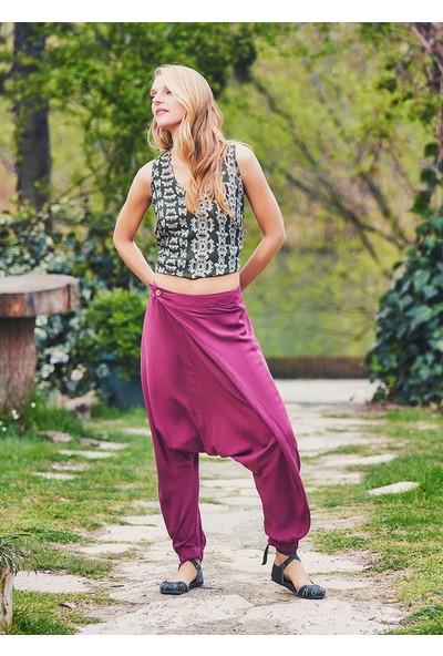Clandestino Kadın Otantik Şalvar Pantolon