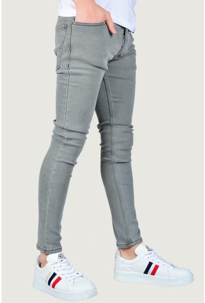 Terapi Men Erkek Likralı Kot Pantolon 9K-2100341-007 Gri