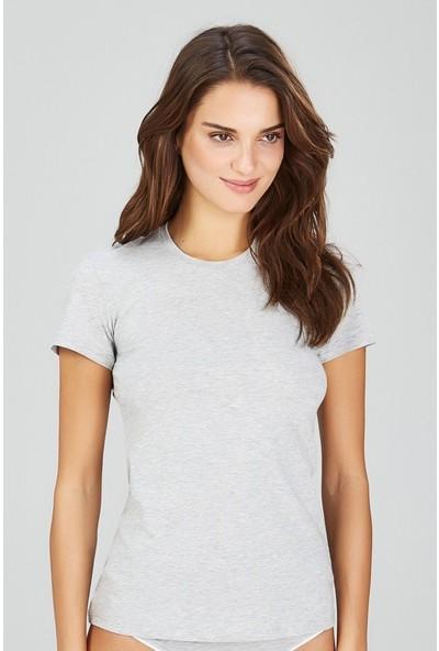 Kom Basic Kadın T-Shirt