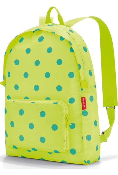 Reisenthel Mini Maxi Rucksack Lemon Dots Çanta