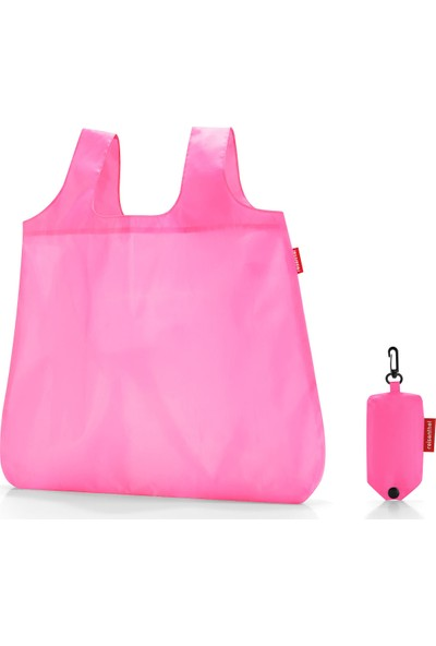 Reisenthel Mini Maxi Shopper Pocket Carmine Çanta