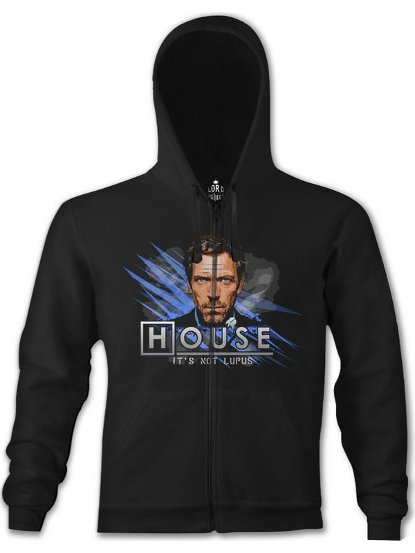 "XXXL T-Shirt /""HOUSE IT/'S NOT LUPUS/"" S"