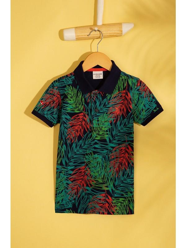 U.S. Polo Assn. Erkek Cocuk T-Shirt 50206216-Vr033