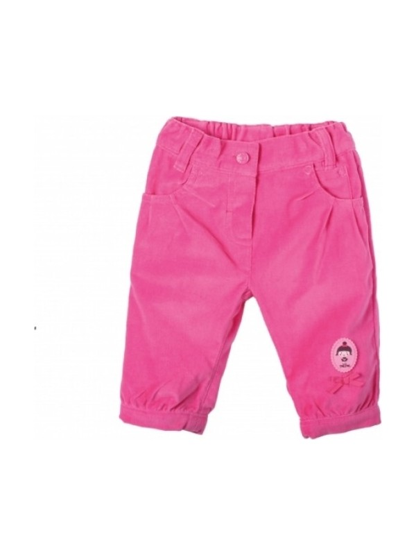 Tuc Tuc Kız Çocuk Arka Cepleri Kalp Görünümlü Kadife Pantolon Ballerinas