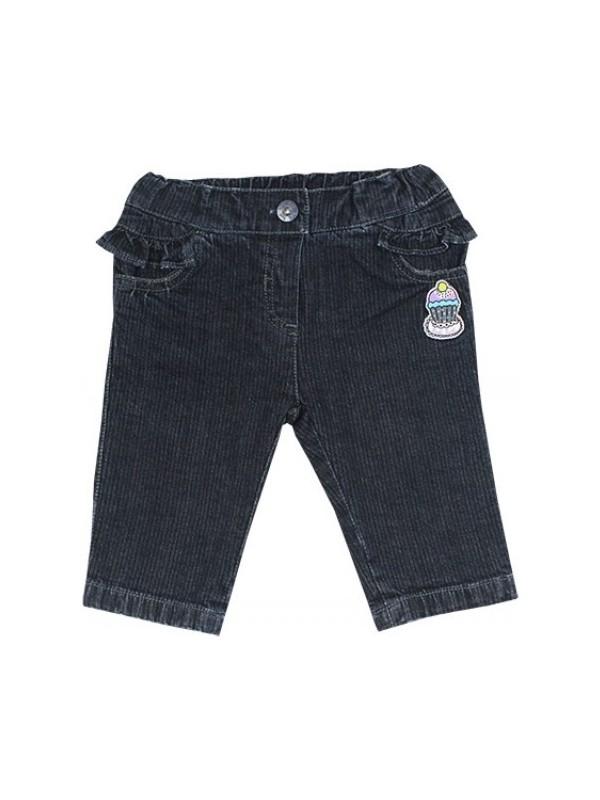 Tuc Tuc Kız Çocuk Fırfırlı Kot Pantolon Paris Oh La La