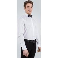 Tudors Dar Kesim Beyaz - %100 Pamuk Leke Tutmaz Gömlek