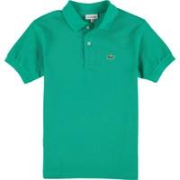 Lacoste Erkek Çocuk Polo T-Shirt Yeşil L18121
