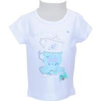 Zeyland Kız Çocuk Beyaz T-shirt - 71M2LJG52