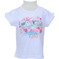 Zeyland Kız Çocuk Beyaz T-shirt - 71Z2PMB52