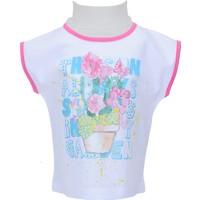 Zeyland Kız Çocuk Beyaz T-shirt - 71Z2SRM51