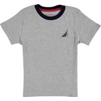 Nautica Erkek Çocuk T-Shirt Gri N483491Q