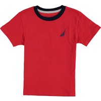 Nautica Erkek Çocuk T-Shirt Siyah N483491Q