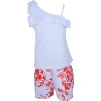 Zeyland Kız Çocuk Beyaz Bluz+Şort Takım - 71Z4OSF76