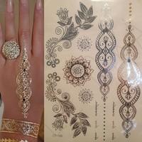 Leydika Flash Tattoo - Geçici Metalik Dövme 253