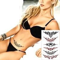 Leydika Black Tattoo - Siyah Geçici Metalik Dövme 500