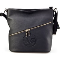 Versace 19.69 Abbigliamento Sportivo Srl.Günlük Kadın Çanta Siyah Deri