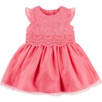 Carter's Kız Bebek Parti Elbisesi 120G130
