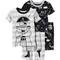 Carter's Erkek Bebek 4Lü Pijama 321G281