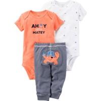 Carter's Layette Erkek Bebek 3'lü Set-Tma 126G596