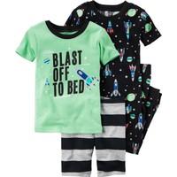 Carter's Küçük Erkek Çocuk 4Lü Pijama 341G278