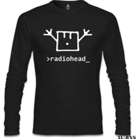 Lord T-shirt Radiohead Siyah Erkek Sweatshirt