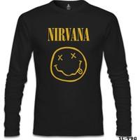 Lord T-shirt Nirvana Come As You Are Siyah Erkek Sweatshirt
