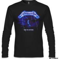 Lord T-shirt Metallica Ride The Lightning Siyah Erkek Sweatshirt