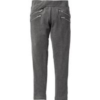 Bpc Bonprix Collection Kız Çocuk Gri Fermuar Detaylı Pantolon
