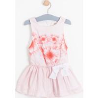 Soobe Monets Garden Kolsuz Kuşaklı Elbise 15YKCELB1591_00-0001