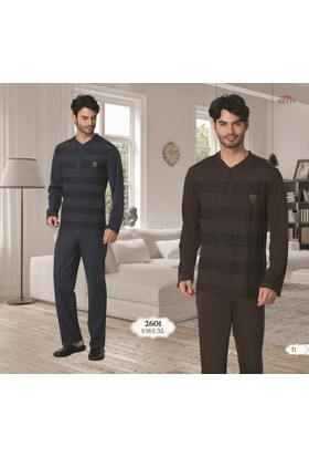Şık Mecit 2601 Uzun Kollu Erkek Pijama Takımı