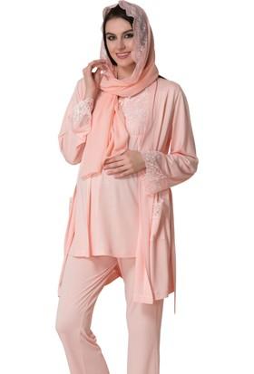 Şık Mecit 1623 Hamile Lohusa 6'Lı Set Pijama
