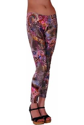 RedHotBest Paisley Pattern Fashion Tight - Şal Desenli Tayt - Rhb101078