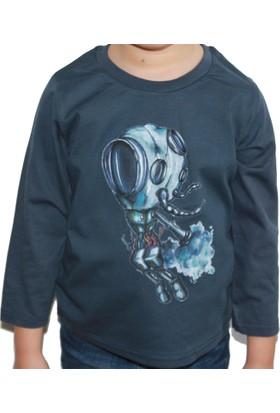 Mumu Scuba - Sinan Artan Tasarımı Lacivert Erkek Çocuk Bluz