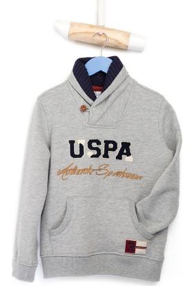 U.S. Polo Assn. Erkek Çocuk Roberts Sweatshirt Gri