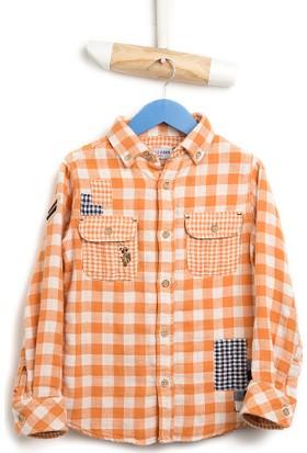 U.S. Polo Assn. Erkek Çocuk Saundkids16K Gömlek Sarı