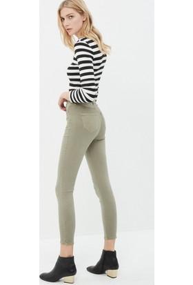 a132d692a4afe Koton Jeans Kadın Skinny Pantolon Haki Koton Jeans Kadın Skinny Pantolon  Haki ...