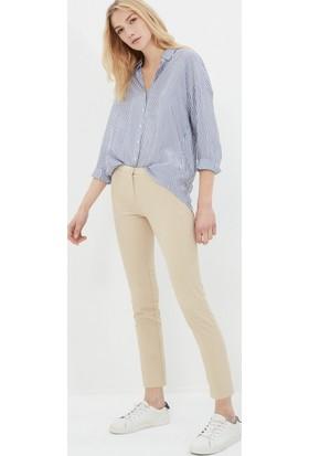 Koton Kadın Slim Fit Pantolon Bej