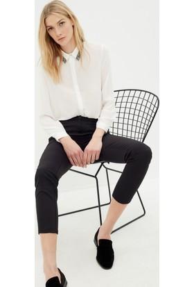 Koton Kadın Dar Paça Pantolon Siyah